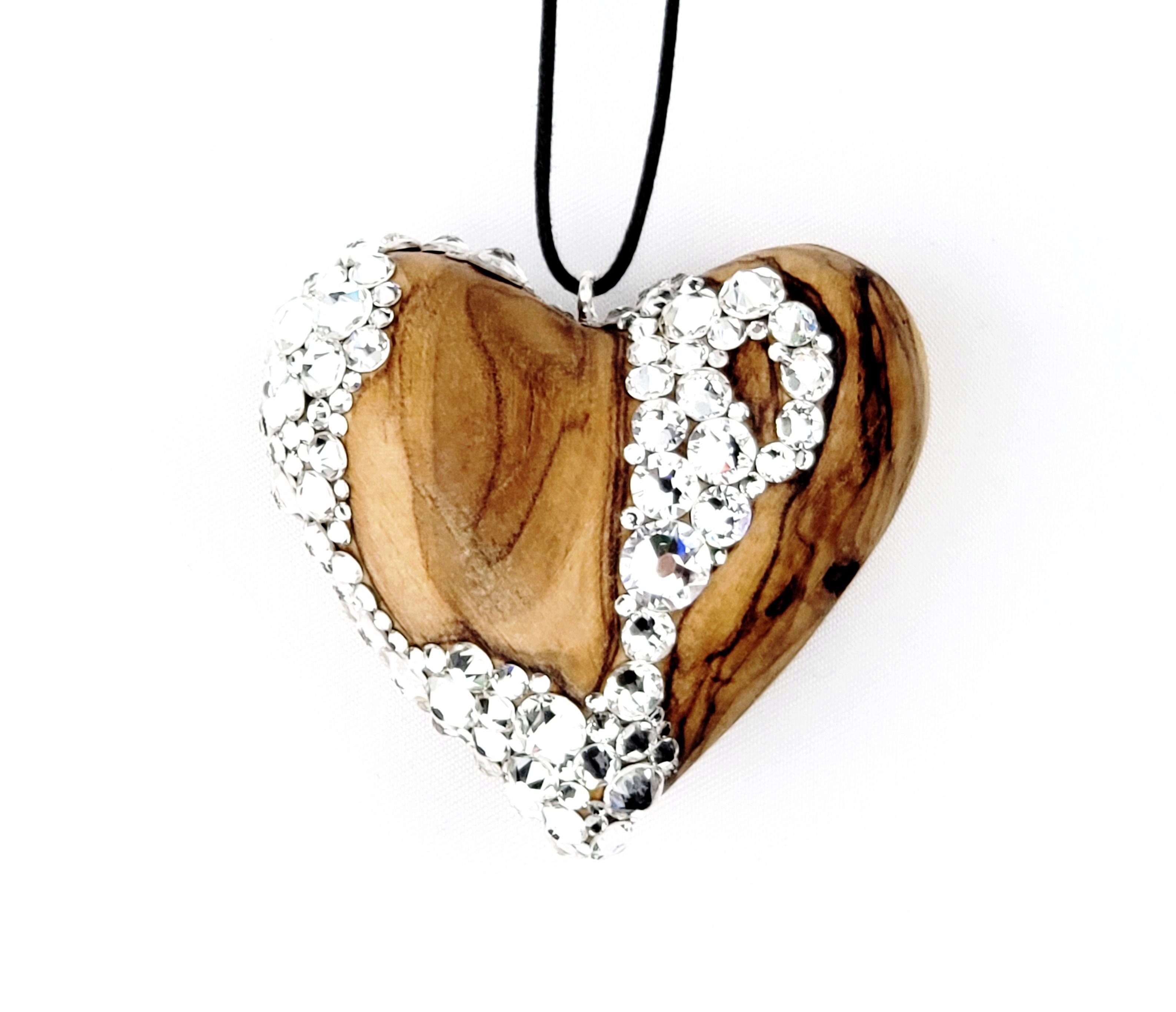 handcarvedwoodheart