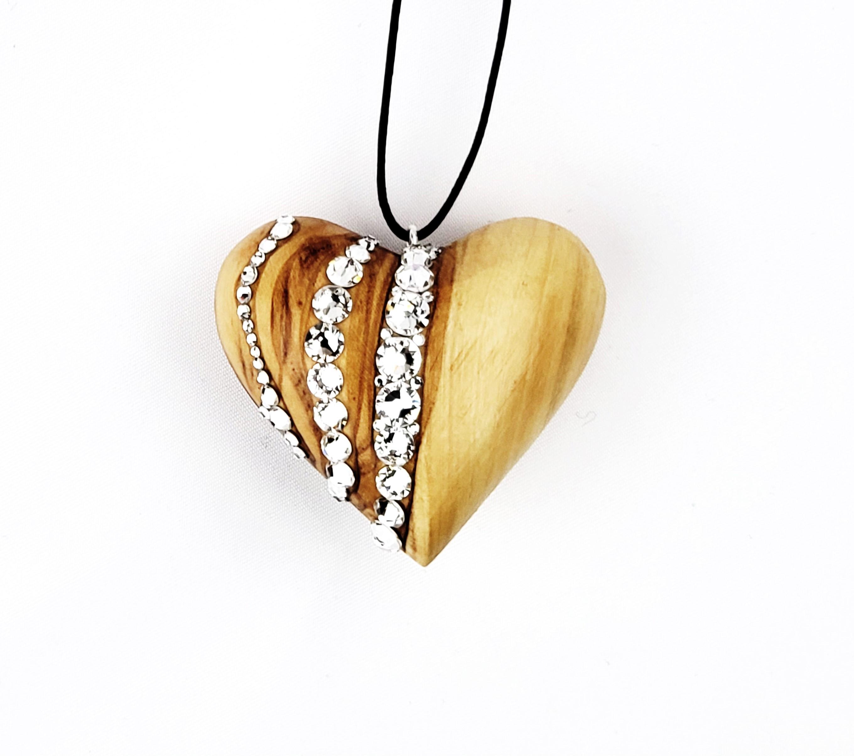 handcraftedwoodheart