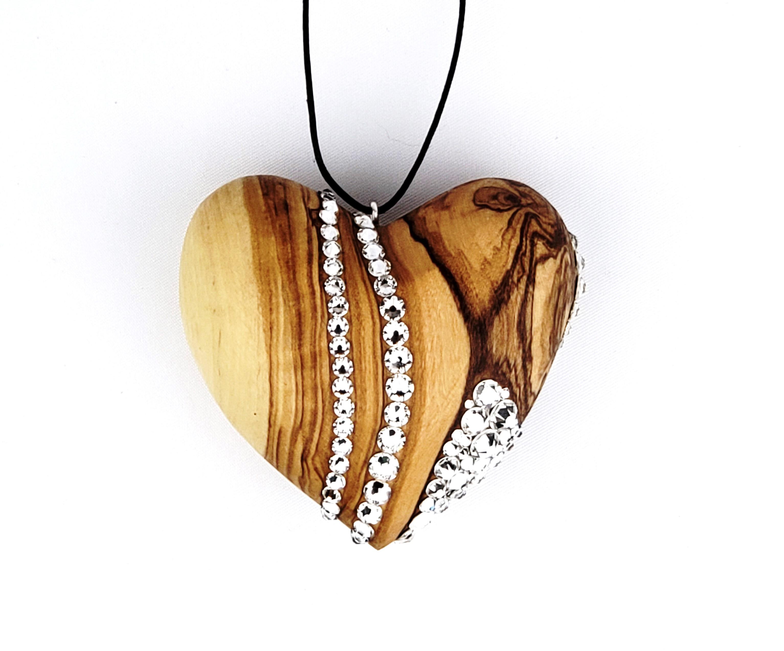 handcarvedwoodenheart