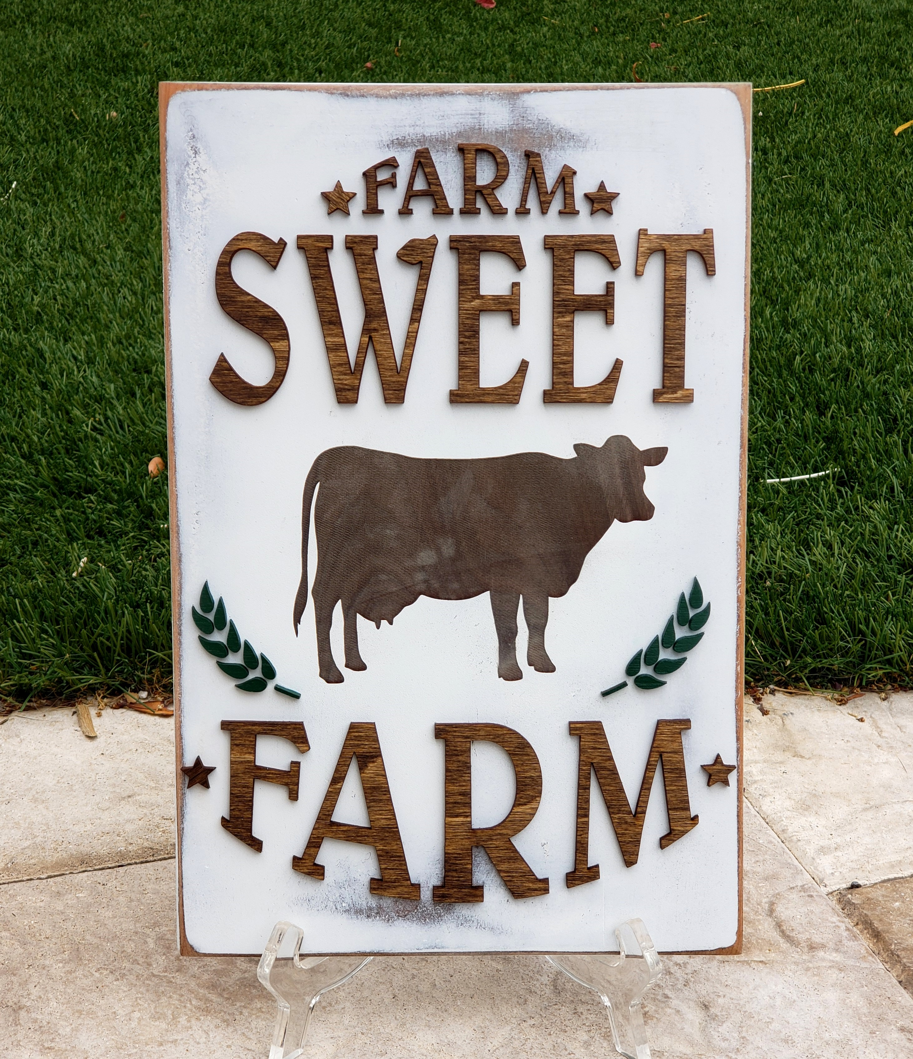 farmsweetwoodensign