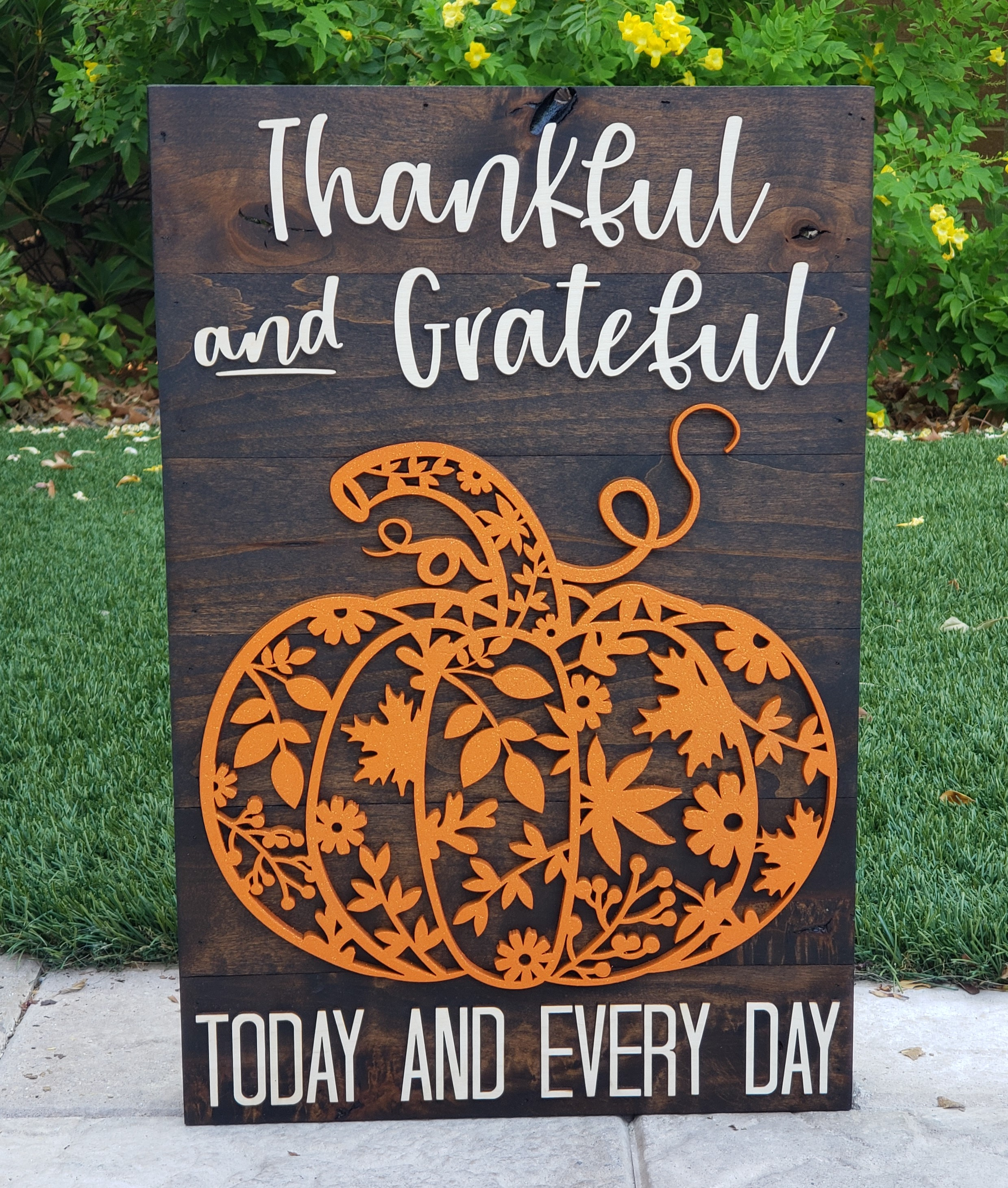 thankfulblessedfallsign