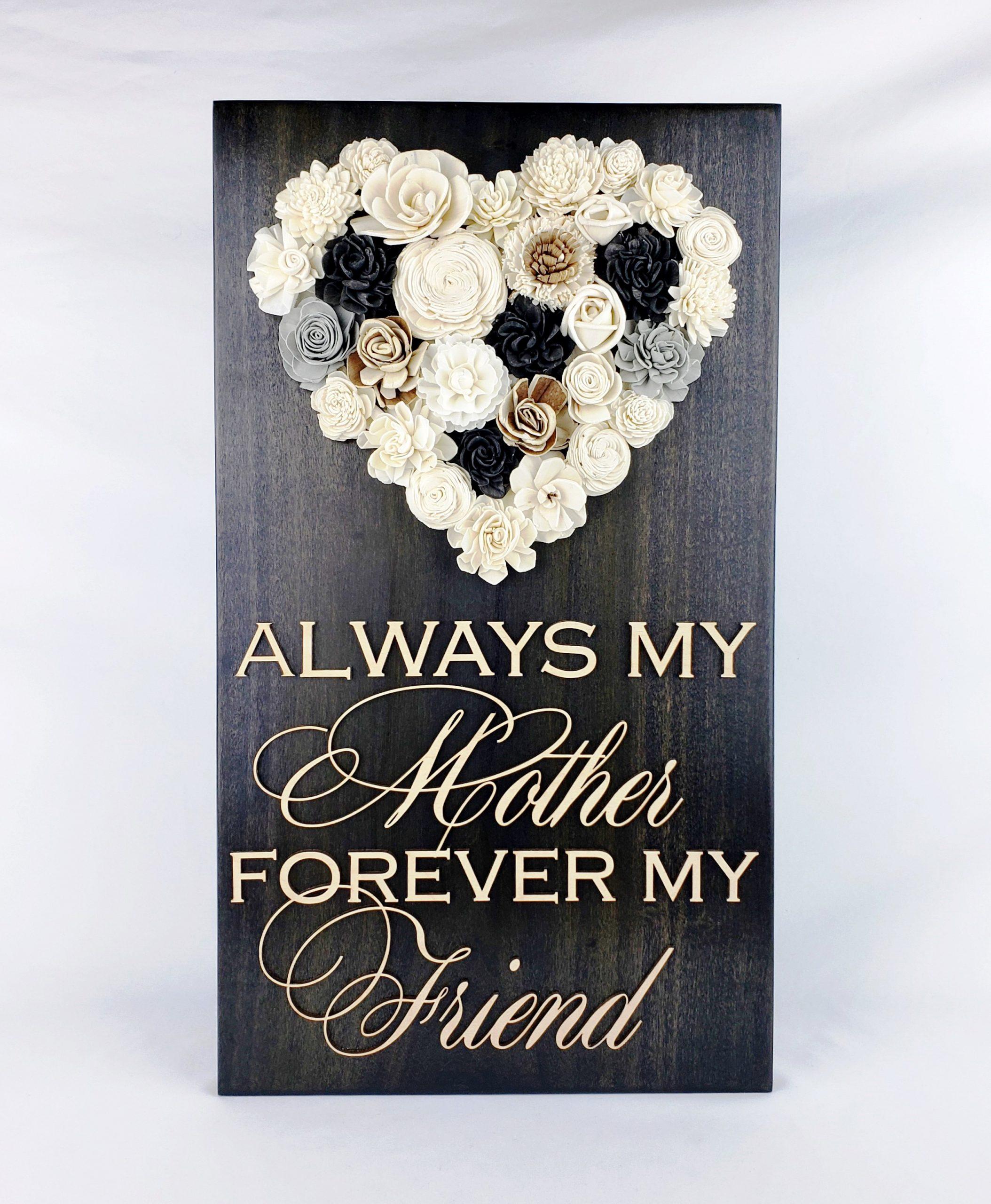 motherheartflowersign